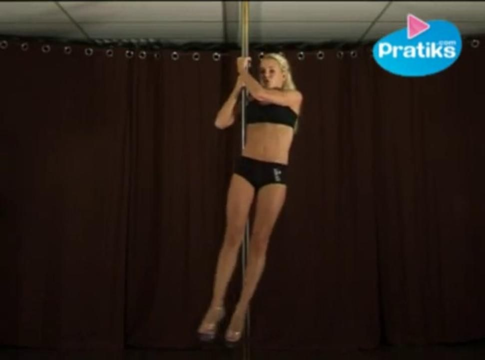 Pole dance - Le teddy advanced (avancé)