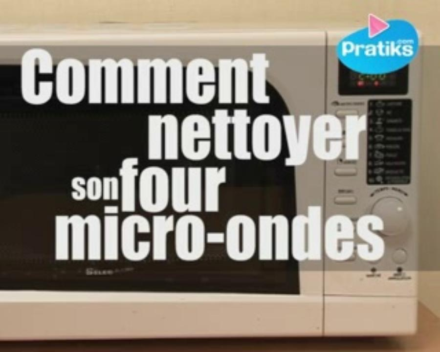 Comment nettoyer son four micro-ondes - Astuce maison
