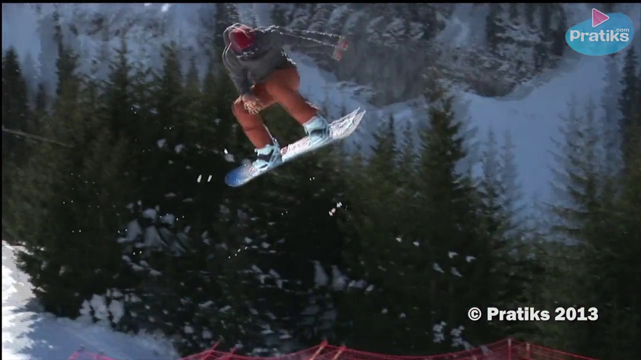 Snowboard Saut Freestyle - Comment faire un 360 Back
