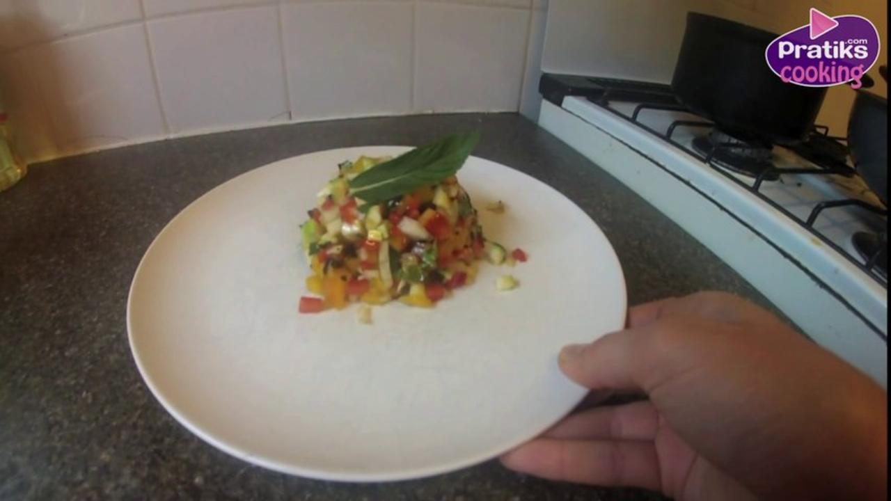 Cooking - How to Make a Vegetable Tartare