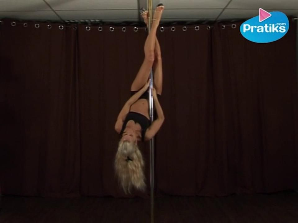 Pole Dance : Basic Invert to Inverted Crucifix (Beginner)