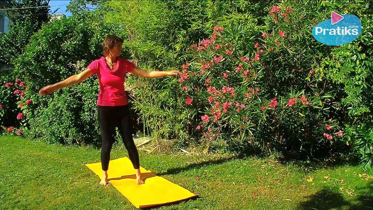 Yoga - How to warm up your Waist