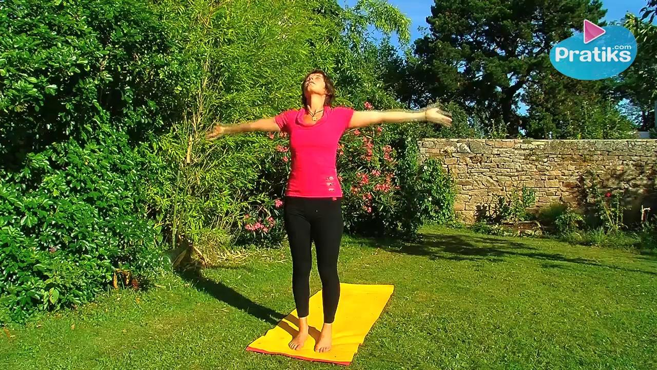 Yoga - How to do a Sun Salutation Relaxation