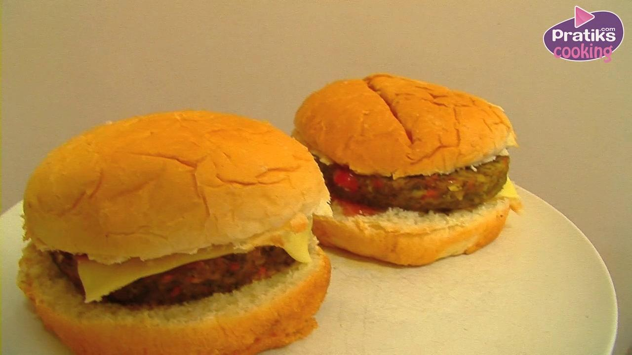 Cooking : How to cook veggie cheese burgers
