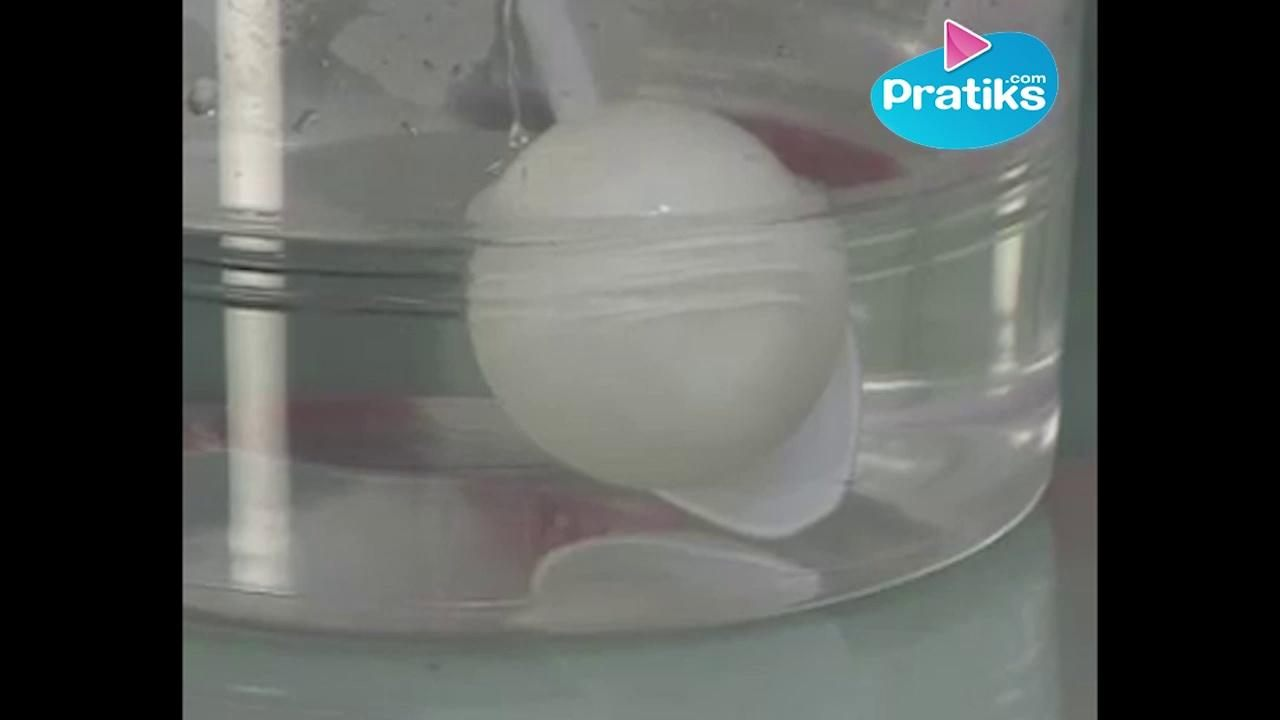 How to inflate a ping- pong ball
