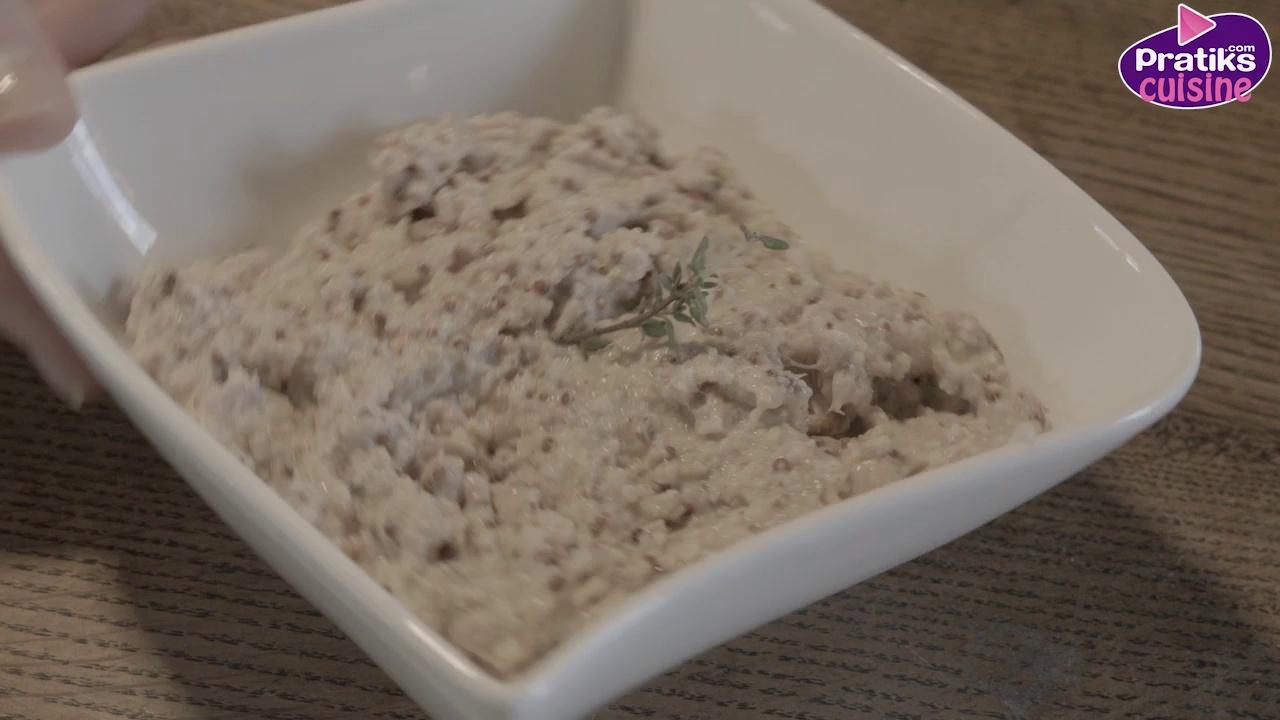 Comment faire des rillettes de thon à la moutarde
