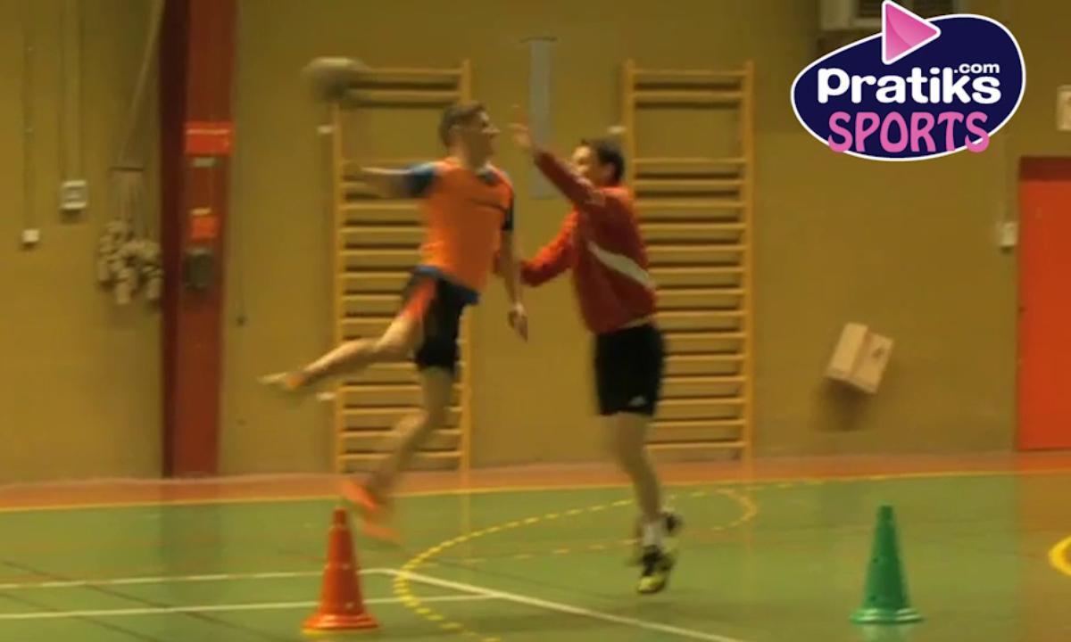 Handball - Comment lancer ou faire un tir en suspension