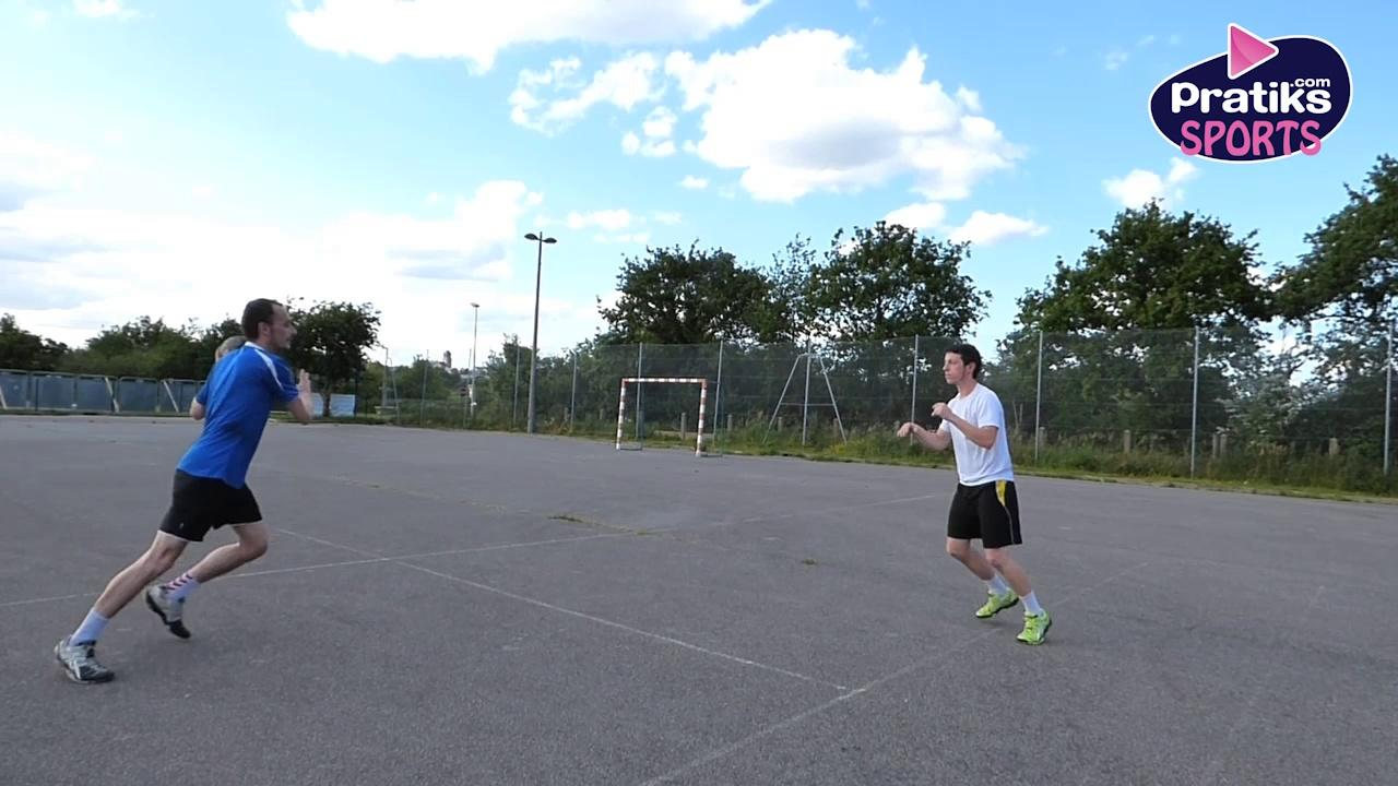 Handball - Comment faire une passe simple