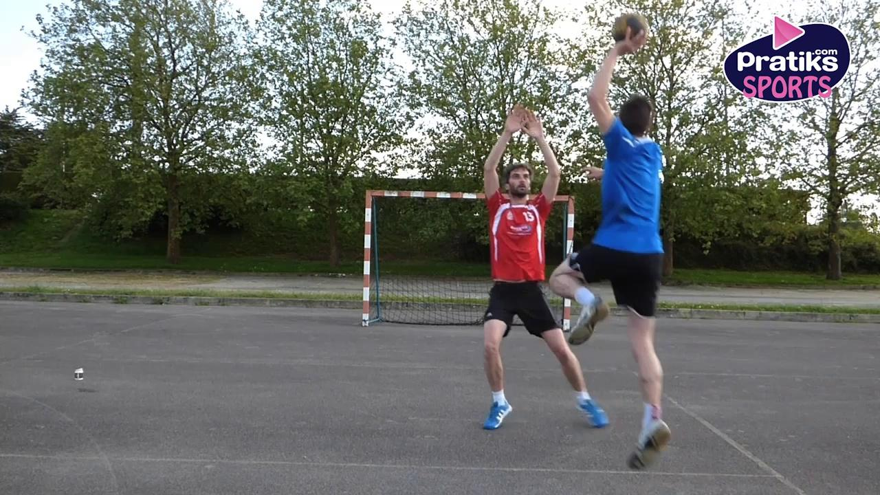Handball - Comment faire un contre
