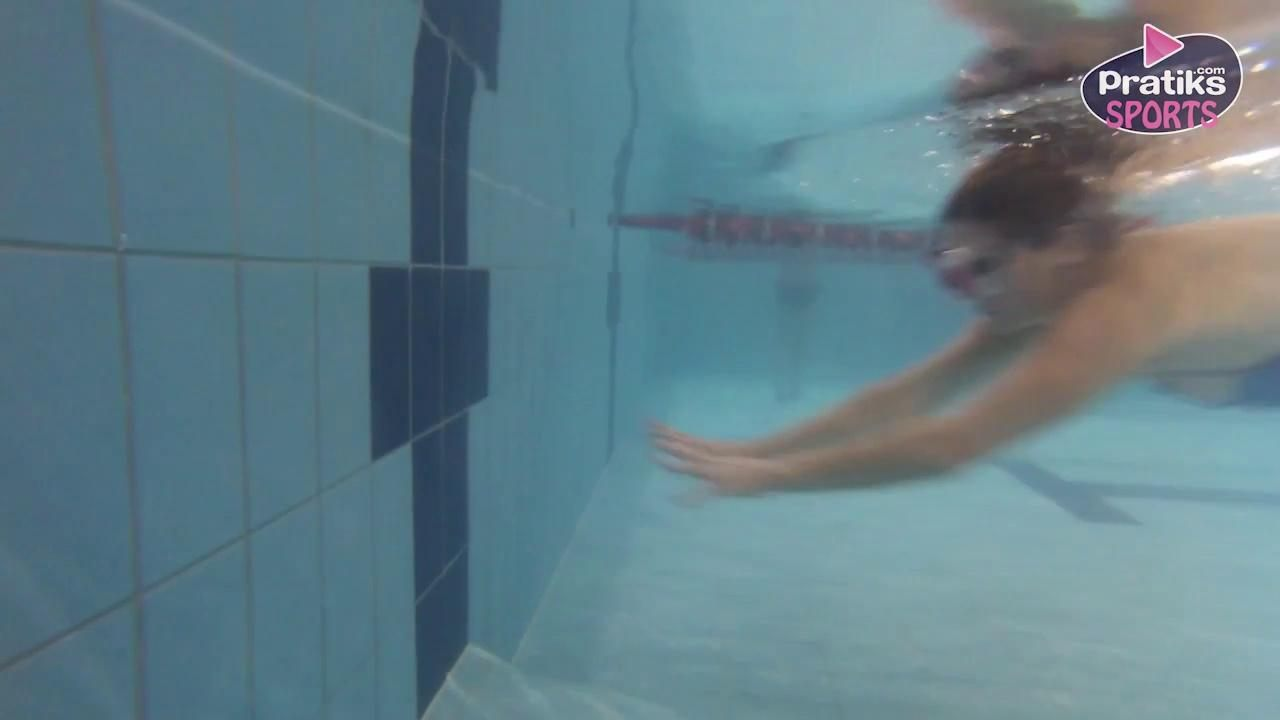 Natation - Comment faire un virage brasse