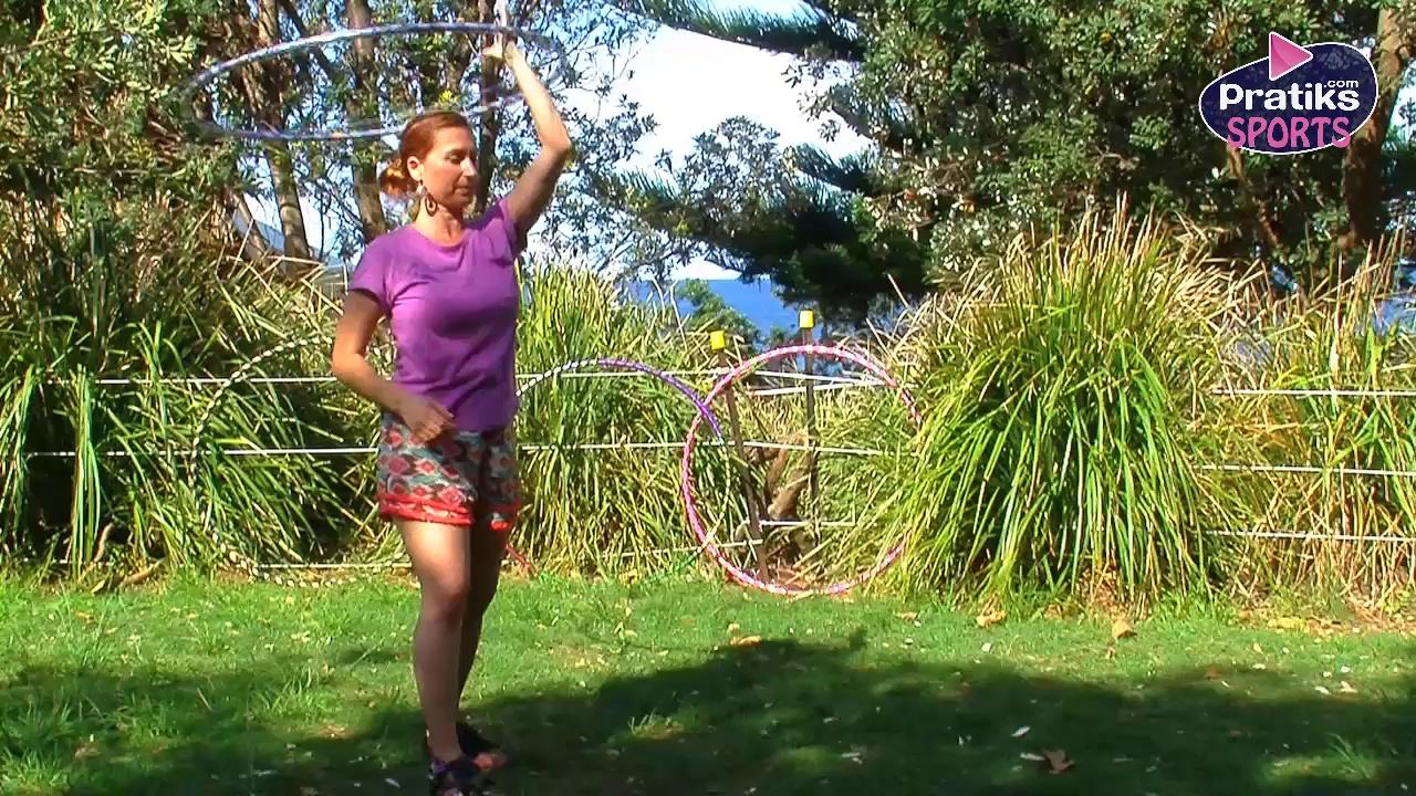 Hula Hoop - Comment faire l'ascenseur cou / hanches en changeant de main