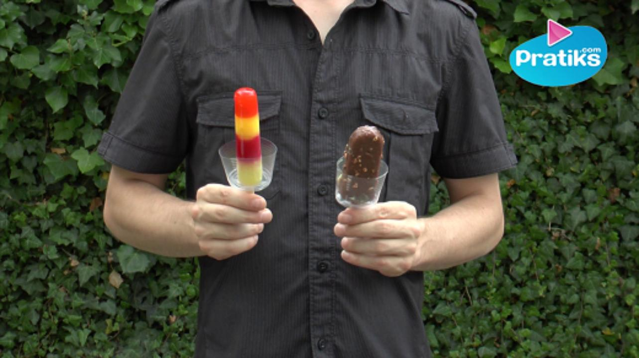 How to protect your hands from melting ice pop - Do it yourself DiY