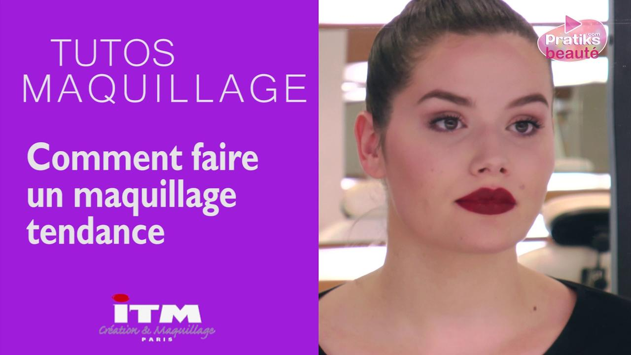 Make-up - Comment faire un maquillage tendance