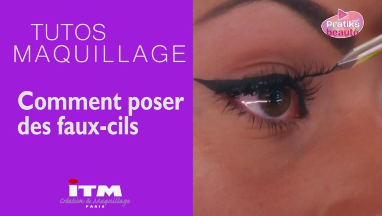 Tuto Make-up - Comment poser des faux-cils