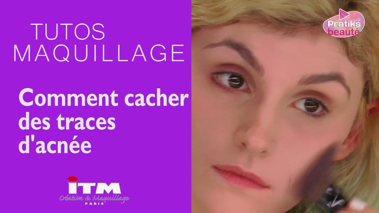Make-up - Comment cacher des traces d'acné