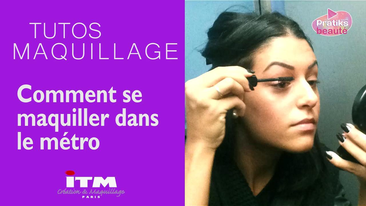 Make-up - Comment se maquiller dans le métro
