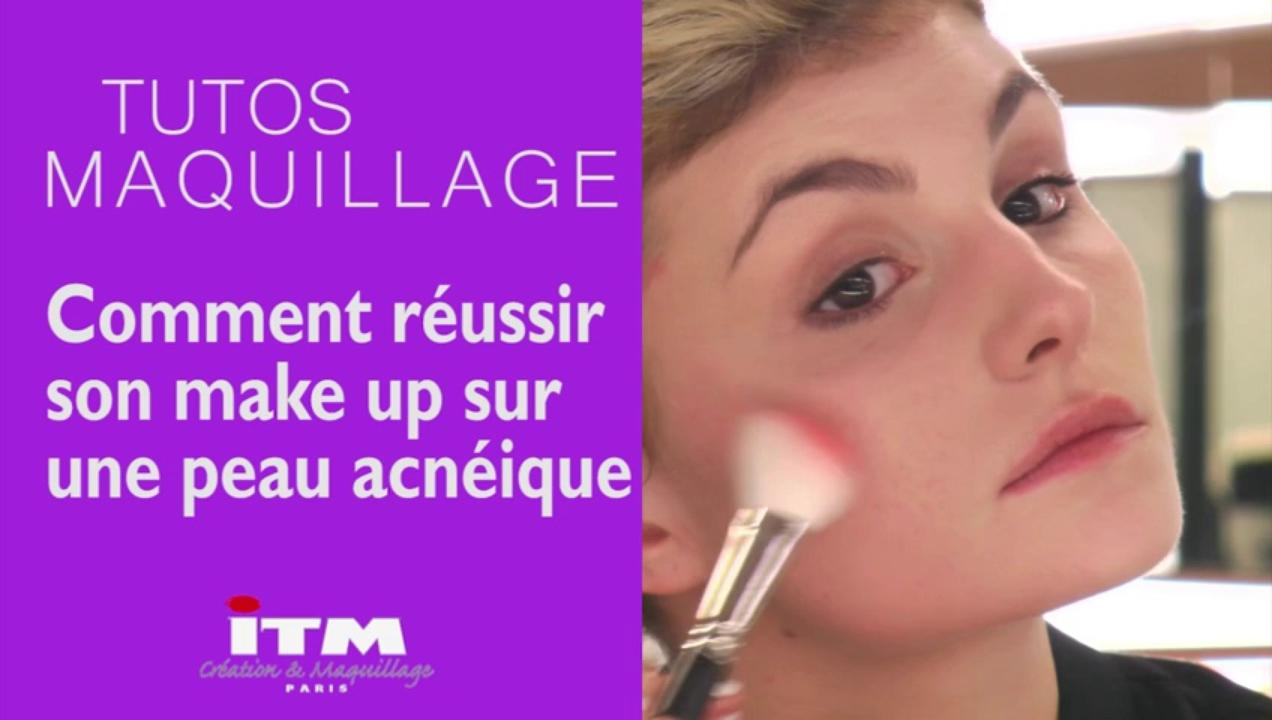 Make-up - Comment réussir son make up sur une peau acnéique
