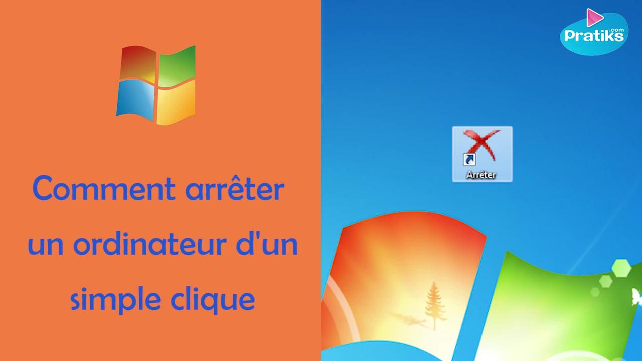 Astuce Windows - Comment arrêter un ordinateur d'un simple clic