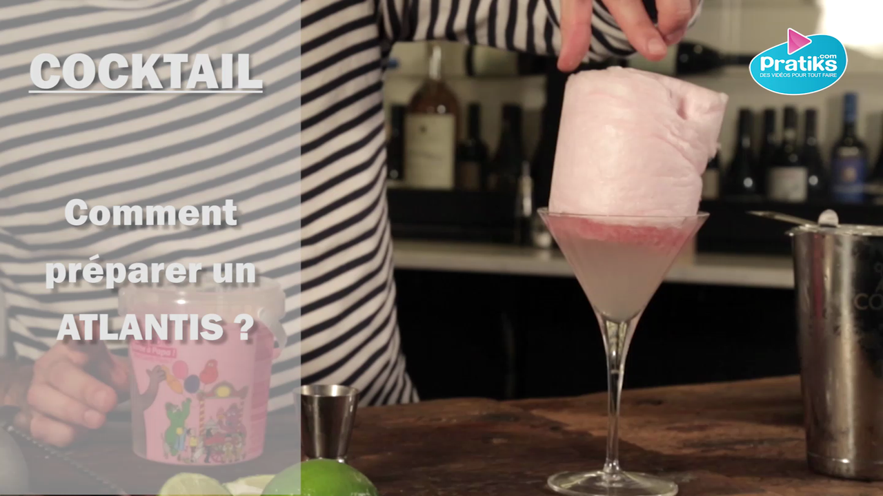 Comment préparer un cocktail Atlantis