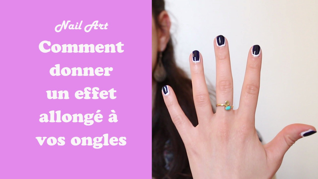 Nail art : comment allonger ses ongles