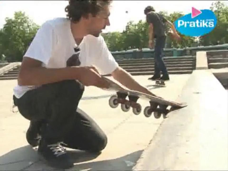 Bladeboard - Comment faire un nose slide et un old school