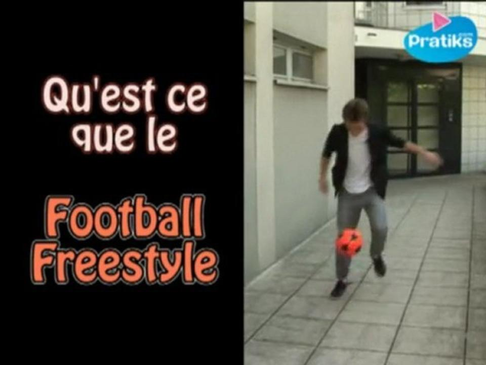 Foot - Qu'est ce que le Football Freestyle par Gautier, vice champion du monde 2011