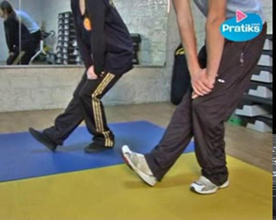 Comment faire les étirements avant le footing ?
