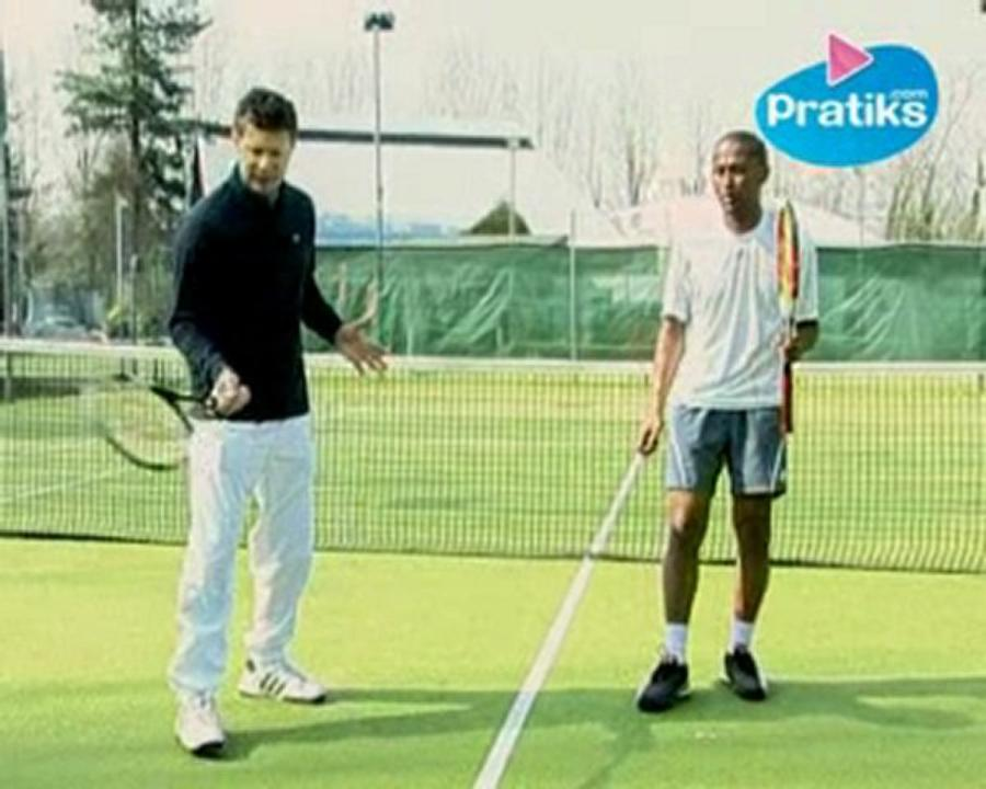 Comment faire la volée au tennis