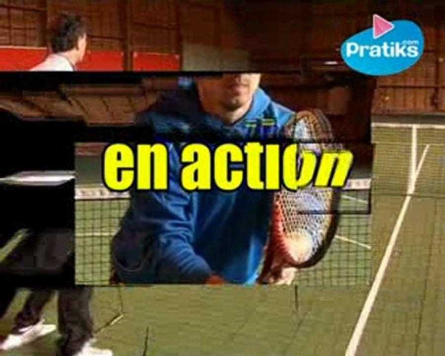 Comment faire le revers coupé au tennis