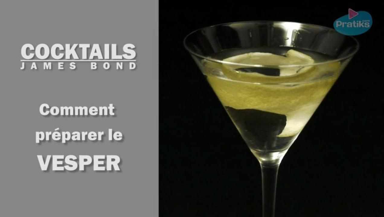 Cocktail James Bond - Comment préparer un Vesper