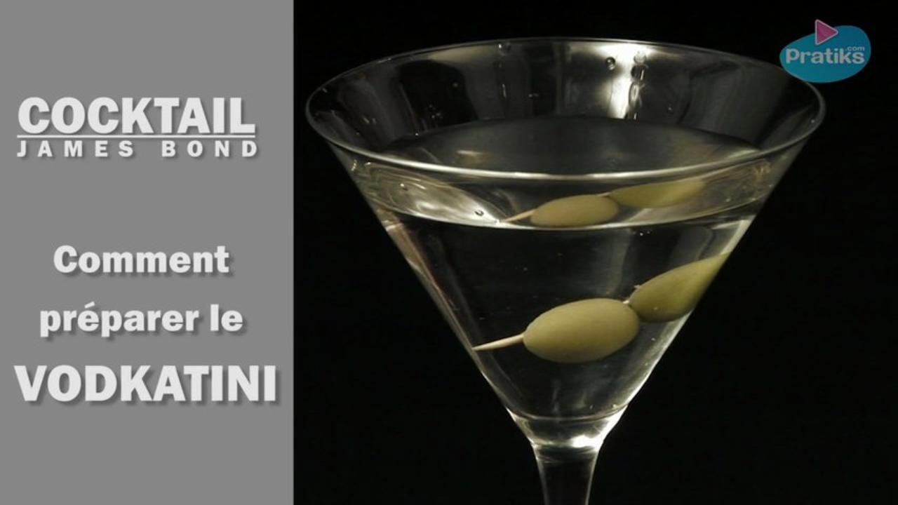 Cocktail James Bond - Comment préparer un vodkatini