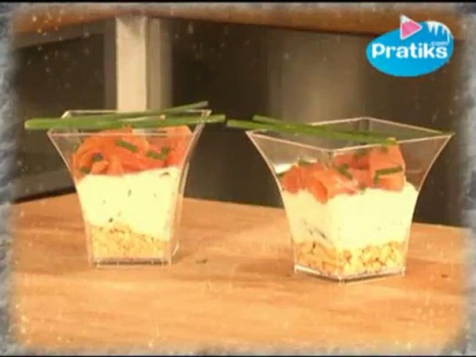 Comment faire une verrine au saumon ?