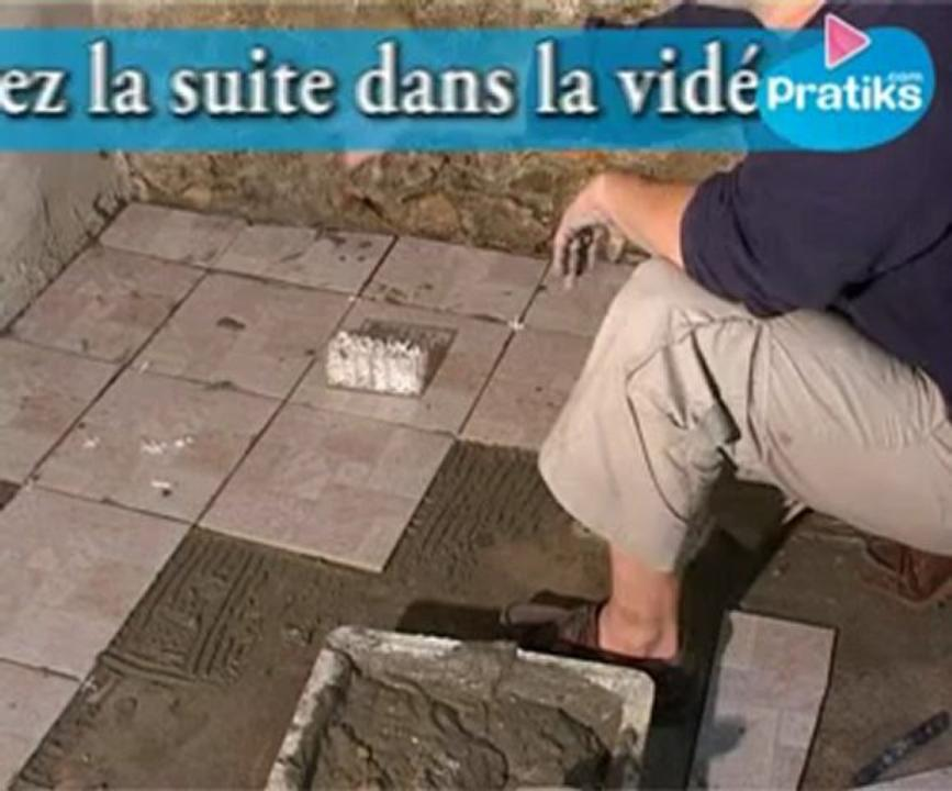 Comment poser du carrelage, 2/4 la pose