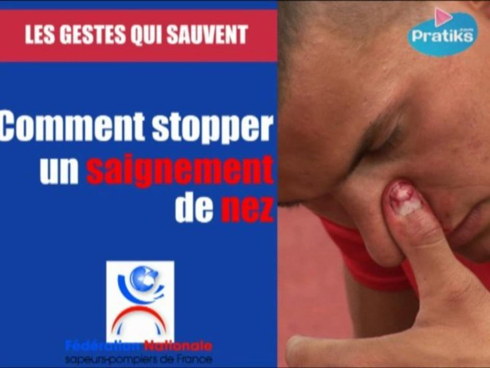 Comment stopper un saignement de nez