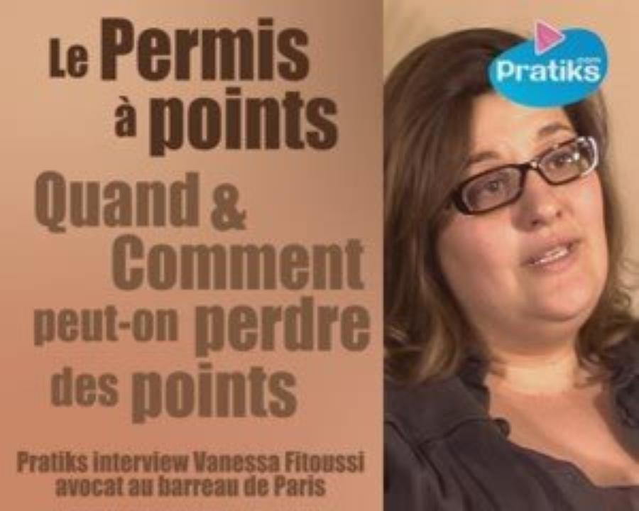 Permis à  points - Quand et comment peut-on perdre des points ?