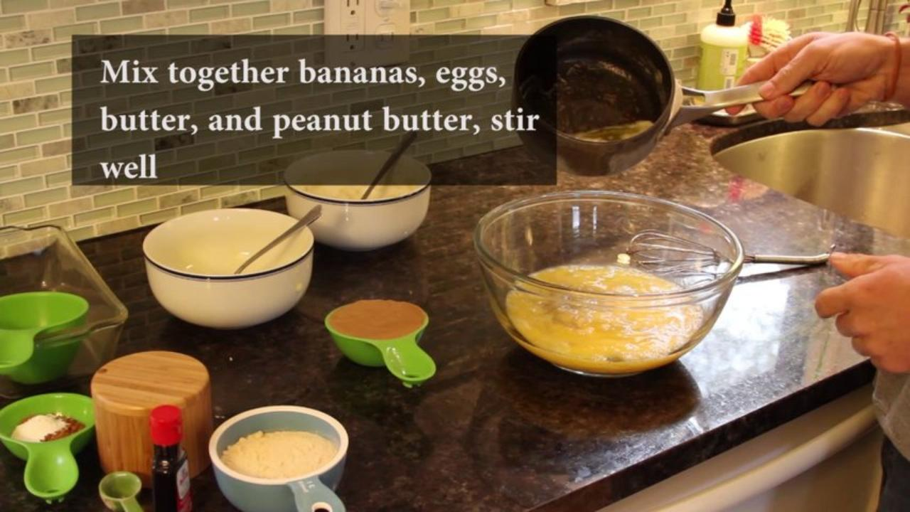 Cooking - How to Make a Grain-Free Banana Bread