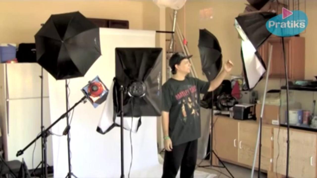 Lighting - How to Light a White Screen for Video