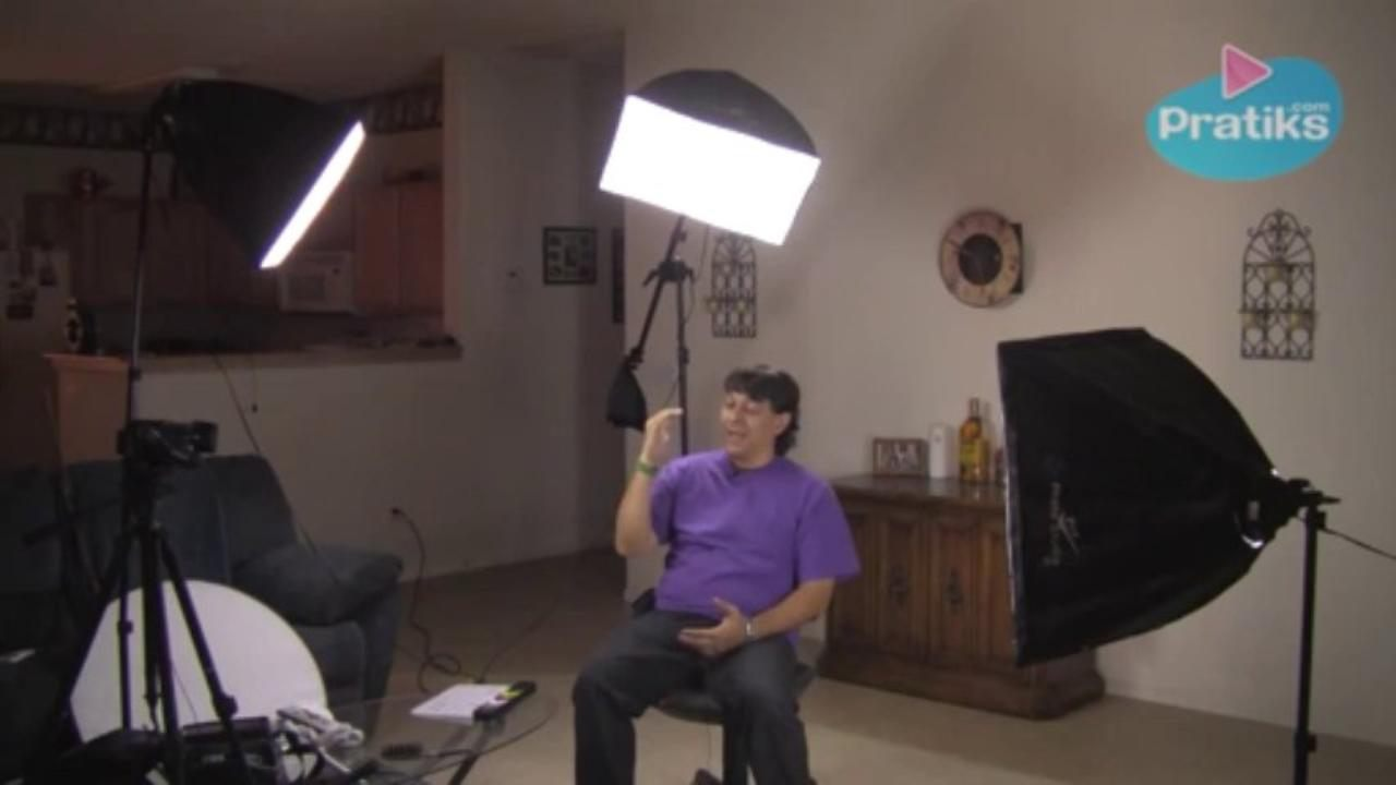 How to Use 3-Point Lighting for Video