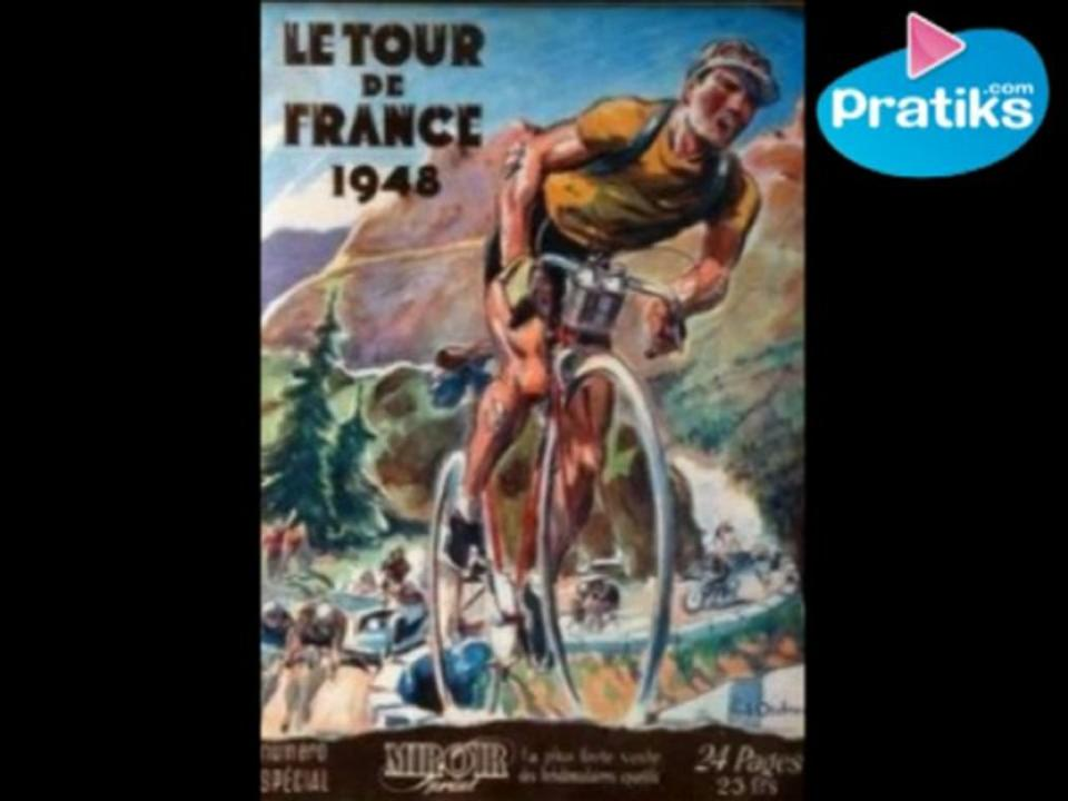 The story of yellow jersey. TOUR DE FRANCE.