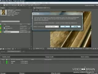 After Effects CS4 : La file d'attente de rendu
