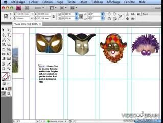 InDesign CS4 : Le remplissage des blocs