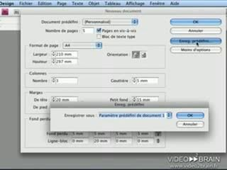 InDesign CS4 : La mise en place du document