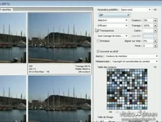 Photoshop CS4 : Enregistrer pour le Web
