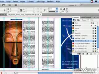 InDesign CS4 : Limiter le nombre d'encres