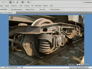 Adobe Photoshop CS4 : Régler l'interface de Photoshop