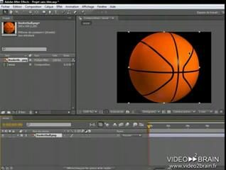 Adobe After Effects CS4 : Créer une composition